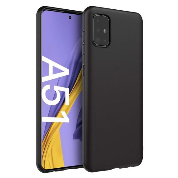 Samsung Galaxy A51 Black Cover Protective Case