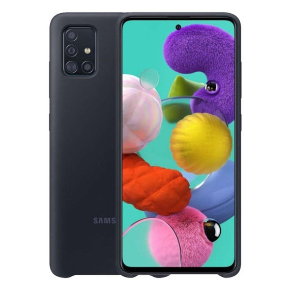 This is the picture of a Samsung Galaxy A71 Cover Protective Case from SES Nigeria