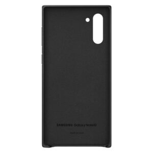 This is a Samsung Galaxy Note 10 Black Back Case