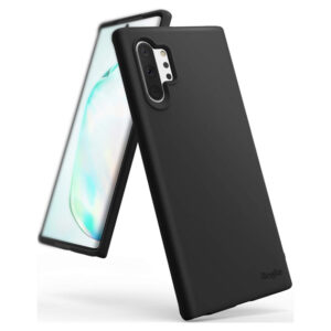 This is a Samsung Galaxy Note 10 Plus Black Back Case
