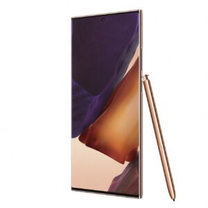 This is a Samsung Galaxy Note 20 bronze