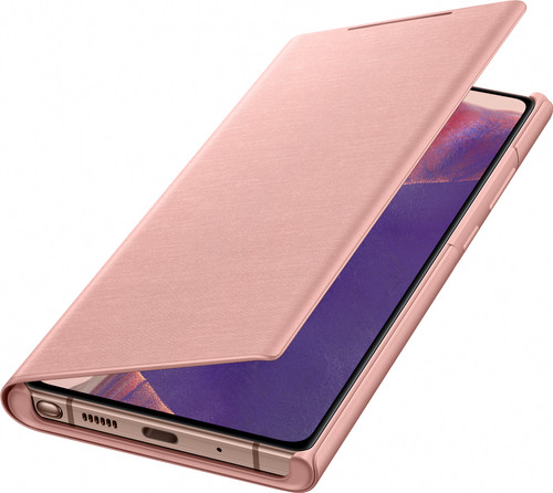 This is a Samsung Note 20 Ultra Bronze LED view cover.