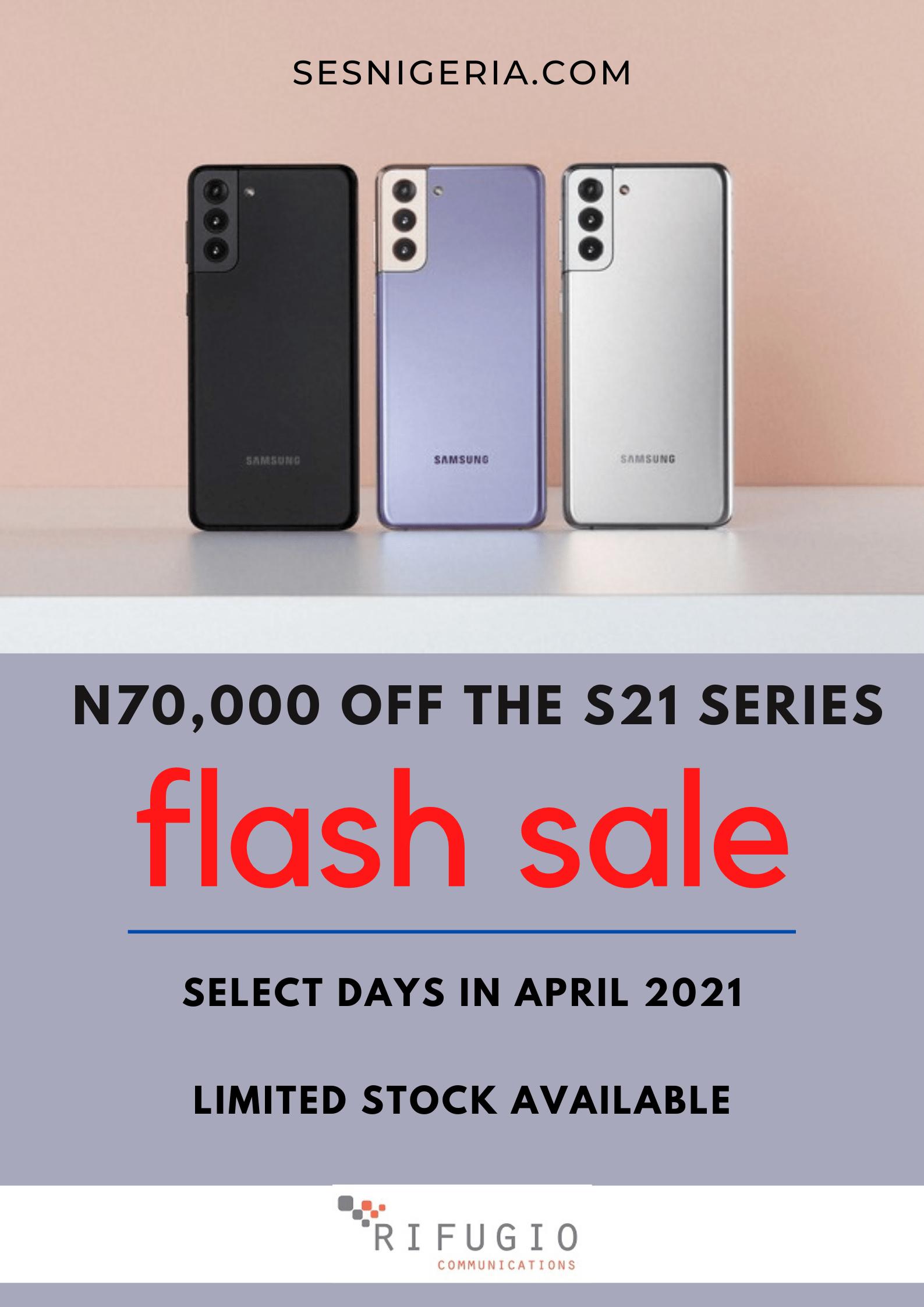 s21 flash sale promo in nigeria