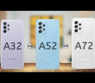 a32 vs a52 vs a72